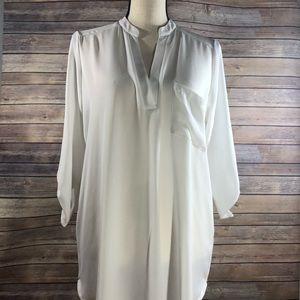 Lush blouse in ivory size small